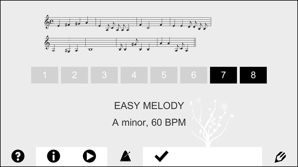 meloDicts, screenshot