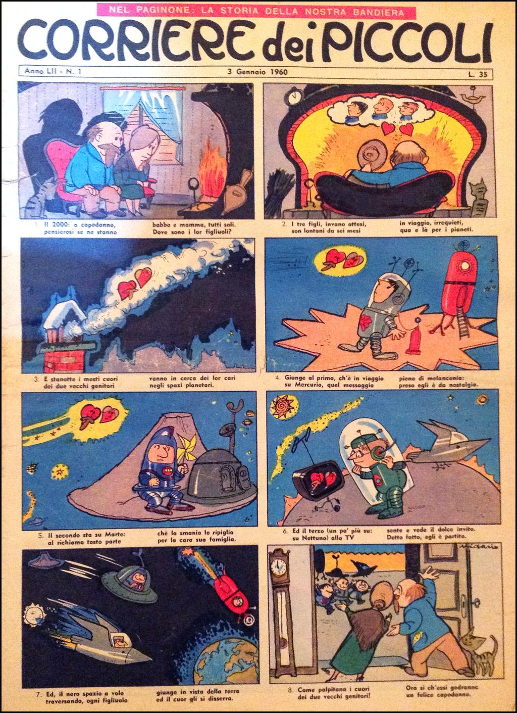 Corriere dei Piccoli 3 Gennaio 1960