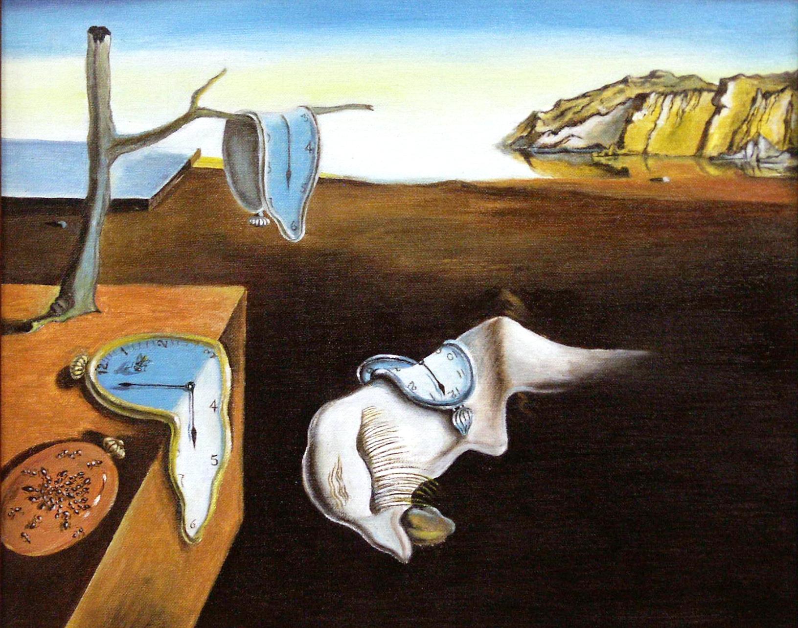 """Salvador Dalí, """"La Persistenza della Memoria"""" (1931)."""
