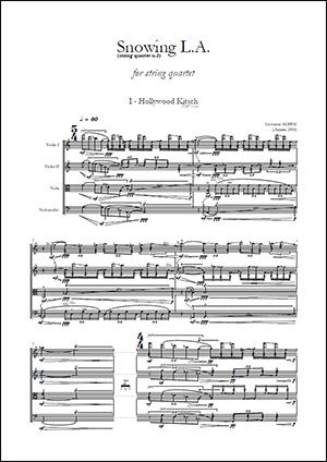 Albini - Third String Quartet